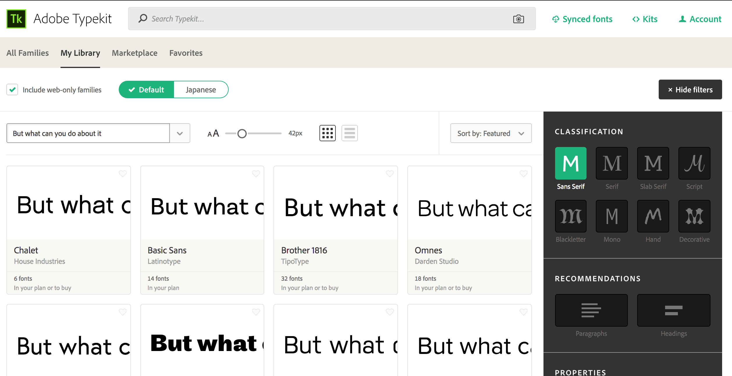 How to find fonts typekit 2